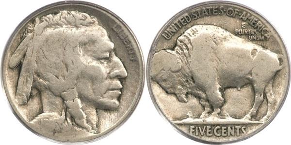 Buffalo nickel no date in Hamilton