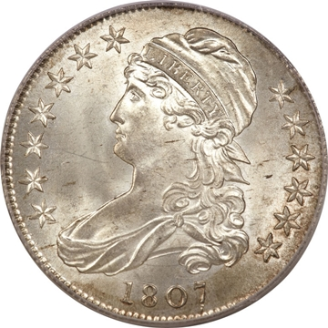 1807 Capped Bust Half Dollar Variety Images Overton Varities