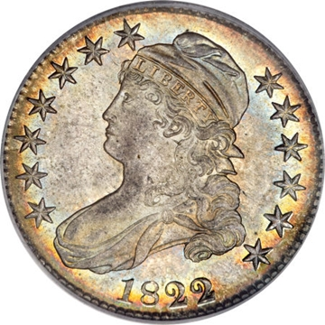 1822 Capped Bust Half Dollar Variety Images Overton 1822 1