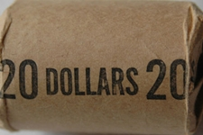 how many silver dollars roll silver dollars
