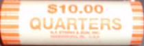how many quarters roll of quarters