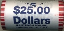 How many dollars roll of dollars