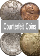 U.S. Counterfeit Coin Detection Images, Coin Collector's Information