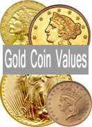 U.S. Gold Coin Values