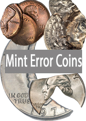 U.S. Mint Error Coin Mistake Images Facts