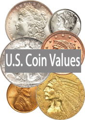 Coin Values For All U.S. Coin Types, Denominations, Mints: Updated 2013