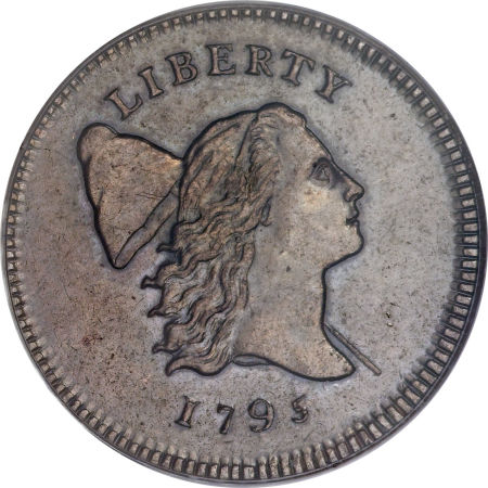 1795 Liberty Cap Half Cent Lettered Edge