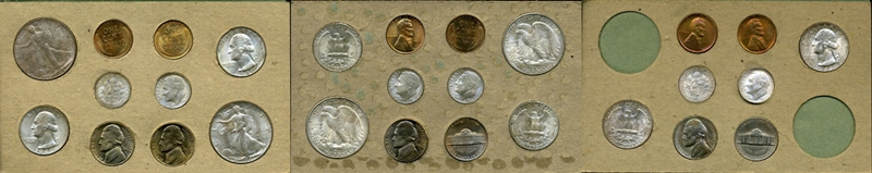 Silver Mint Set Values: Silver Face Value, Total Face Value
