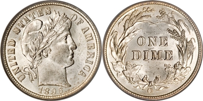 Barber Dime Values