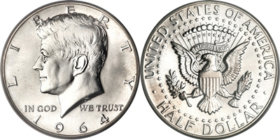 Kennedy Half Dollar Us Coin Values Coinhelp