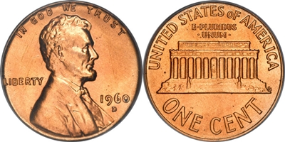 Lincoln Memorial Cent Value