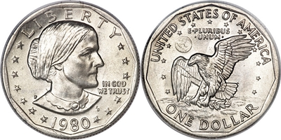 Susan B Athony Dollar value